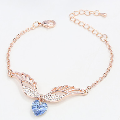 Pentru femei Brățări cu Lanț & Legături Bijuterii Natură La modă Vintage Confecționat Manual Cristal Aliaj Heart Shape Bijuterii Pentru
