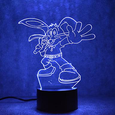1set USB Lights LED Night Light Nacht Lampen Raak 7-Color USB