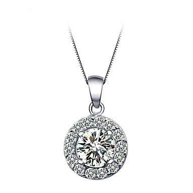 Dames Hangertjes ketting Sieraden Ronde vorm Sieraden Kristal Legering Uniek ontwerp Modieus Euramerican Kostuum juwelen Sieraden Voor
