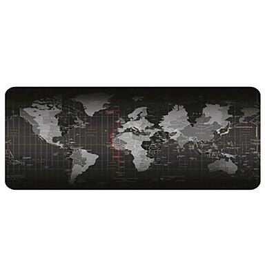 mouse-ul mouse-ului - pad portabil mare de birou - baza de cauciuc anti-alunecare pe baza de harta mouse-ului (30x80x0,2cm)