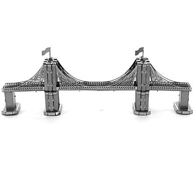 بانوراما الألغاز قطع تركيب3D اللبنات DIY اللعب معمارية معدن ألعاب البناء و التركيب