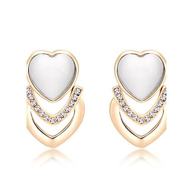 Pentru femei Sintetic Opal Personalizat Design Unic Modă Euramerican Pietre sintetice Aliaj Round Shape Bijuterii Bijuterii Pentru Nuntă