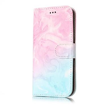 Maska Pentru Samsung Galaxy J7 (2016) J5 (2016) Portofel Titluar Card Cu Stand Întoarce Corp Plin Marmură Greu PU Piele pentru J7 (2016)