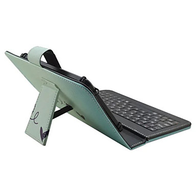 Für Hüllen Cover mit Halterung mit Tastatur Flipbare Hülle Muster Handyhülle für das ganze Handy Hülle Wort / Satz Farbverläufe Hart