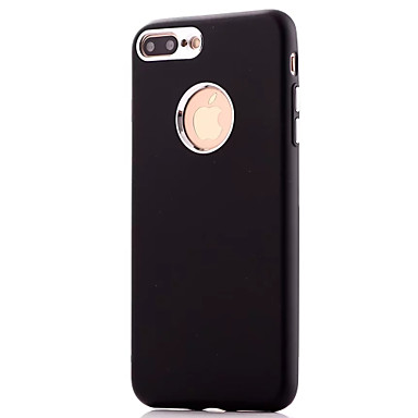 Für Apfel iphone 7 7 plus Fallabdeckung Kraftstoffeinspritzung Normallack tpu Material Metallknopf Telefonkasten iphone 6s 6 plus