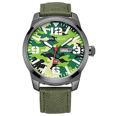 Bărbați Ceas Sport Ceas La Modă Quartz Calendar Nailon Bandă Casual Negru Albastru Verde Khaki