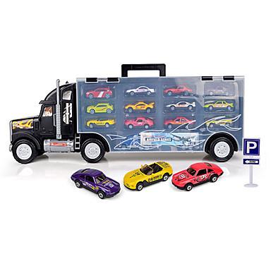 Speelgoedauto's Speeltjes Motorfietsen Truck Speeltjes Rechthoekig Vrachtwagen Metaallegering Stuks Niet gespecificeerd Geschenk