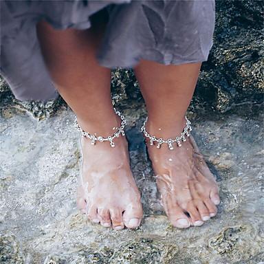 Dames Enkelring/Armbanden Legering Vintage Bloemvorm Sieraden Voor Dagelijks Causaal Uitgaan