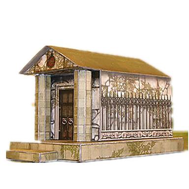 قطع تركيب3D أشغال الورق قصر بناء مشهور معمارية اصنع بنفسك كلاسيكي للجنسين هدية