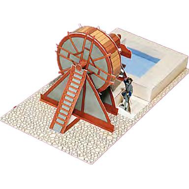 Jucării pentru mașini Puzzle 3D Modelul de hârtie Lucru Manual Din Hârtie Clădire celebru Arhitectură 3D Simulare Reparații Hârtie Rigidă
