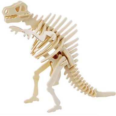 Puzzle 3D Puzzle Jucarii Animal 3D Animale Reparații Lemn Lemn natural Unisex Bucăți