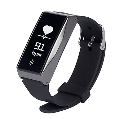 Smart-Armband Touchscreen Herzschlagmonitor Wasserdicht Verbrannte Kalorien Schrittzähler Übungs Tabelle Kamera Distanz Messung Anti-lost