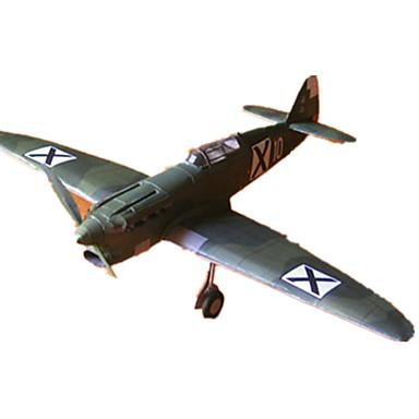 3D - Puzzle Papiermodelle Flugzeug Kämpfer Simulation Heimwerken Klassisch Unisex Geschenk