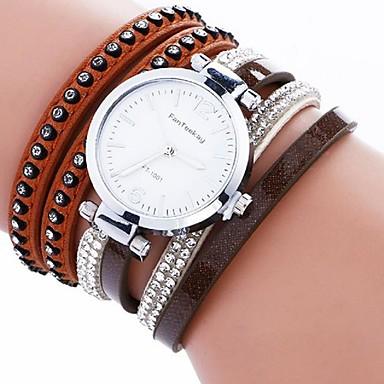 Damen Armband-Uhr digital Metall Band Schwarz Weiß Blau Rot Braun Grau Khaki
