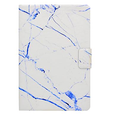 Hülle Für Samsung Galaxy Tab A 9.7 Tab A 8.0 Kreditkartenfächer mit Halterung Flipbare Hülle Magnetisch Muster Ganzkörper-Gehäuse Marmor