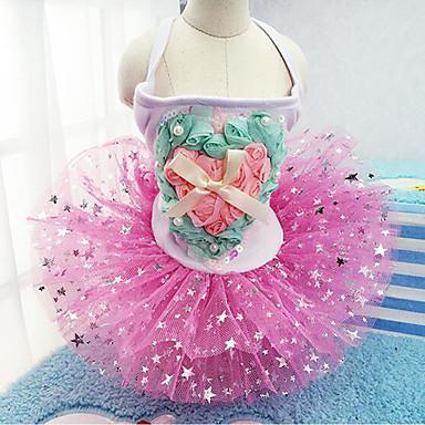 Hund Kleider Hundekleidung Lässig/Alltäglich Herzen Blau Rosa Kostüm Für Haustiere