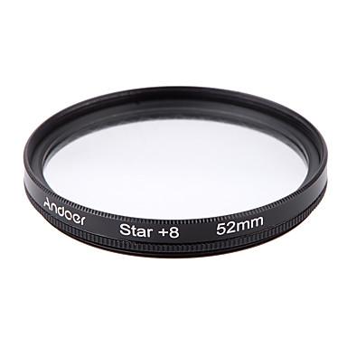 Andoer 52mm filtru set uv cpl stea set de 8 puncte filtru cu caz pentru canon nikon sony dslr obiectiv camera