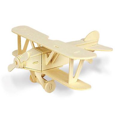 Jucării pentru mașini Puzzle 3D Puzzle Modelul lemnului Jucarii Dinosaur Rezervor Aeronavă 3D Animale Reparații Lemn Ne Specificat Bucăți
