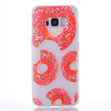 hoesje Voor Samsung Galaxy S8 Plus S8 Mat Doorzichtig Patroon Achterkantje Voedsel Zacht TPU voor S8 S8 Plus