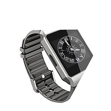 Heren Smart horloge Modieus horloge Digitaal Waterbestendig Legering Band Zwart Bruin Grijs