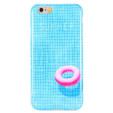 hoesje Voor Apple iPhone 7 Plus iPhone 7 IMD Achterkant Lijnen / golven Cartoon Zacht TPU voor iPhone 7 Plus iPhone 7 iPhone 6s Plus