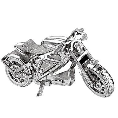 قطع تركيب3D تركيب معدني مجموعات البناء دراجة نارية 3D مواد تأثيث كروم معدن 6 سنوات فما فوق
