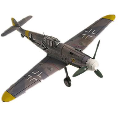 3D-puzzels Bouwplaat Modelbouwsets Vliegtuig Vechter Hard Kaart Paper Kinderen Unisex Geschenk