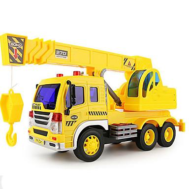 Educatief speelgoed Terugtrekauto/Inertie-auto Speelgoedauto's Speeltjes Motorfietsen Constructievoertuig Graafmachine Speeltjes