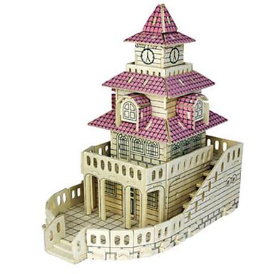 3D - Puzzle Holzpuzzle Holzmodelle Berühmte Gebäude Architektur andere 3D Heimwerken Holz Naturholz Klassisch Kinder Unisex Geschenk
