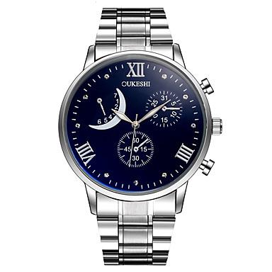 Heren Kwarts Polshorloge Chinees Hot Sale Metaal Legering Band Amulet Luxe Informeel Gesimuleerde Diamond Watch Uniek creatief horloge