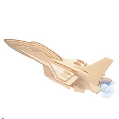 Puzzle 3D Puzzle Metal Modele de Lemn Μοντέλα και κιτ δόμησης Luptător Reparații Lemn natural Clasic Unisex Cadou