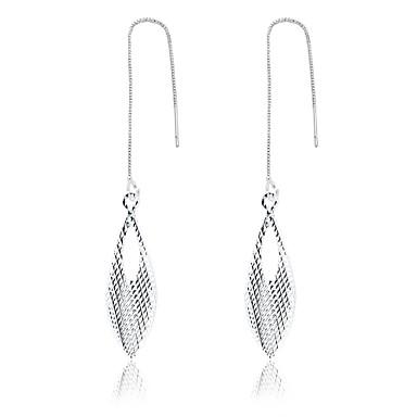 Damen Tropfen-Ohrringe Schmuck Personalisiert Luxus Geometrisch Einzigartiges Design Tattoo Stil Anhänger Stil Klassisch Retro Böhmische