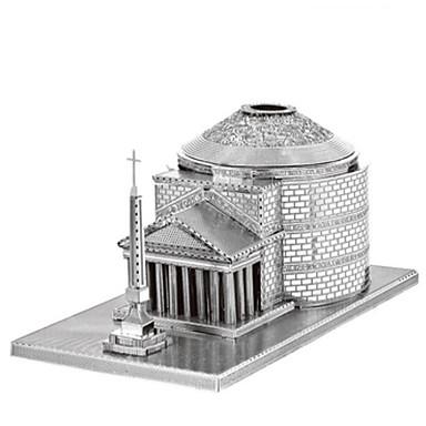 3D - Puzzle Holzpuzzle Metallpuzzle Modellbausätze Turm Architektur 3D Heimwerken Edelstahl Chrom Eisen Metal Klassisch 6 Jahre alt und