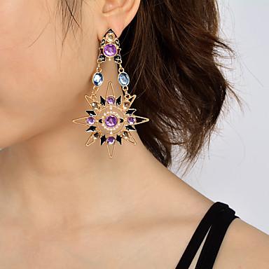 Damen Ohrringe baumeln Einzigartiges Design Anhänger Stil Modisch individualisiert Euramerican Schmuck mit Aussage Künstliche Perle Acryl