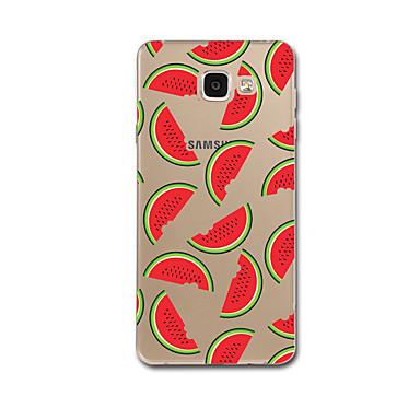 Hülle Für Samsung Galaxy A5(2017) A3(2017) Transparent Muster Rückseite Anwendung Frucht Weich TPU für A3 (2017) A5 (2017) A7 (2017) A8