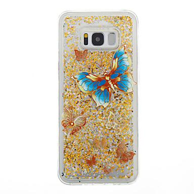 غطاء من أجل Samsung Galaxy S8 Plus S8 سائل متدفق غطاء خلفي فراشة ناعم TPU إلى S8 S8 Plus S7 edge S7 S6 edge S6 S5