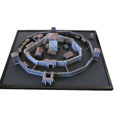 Puzzle 3D Modelul de hârtie Μοντέλα και κιτ δόμησης Lucru Manual Din Hârtie Jucarii Clădire celebru Arhitectură 3D Reparații Unisex Bucăți