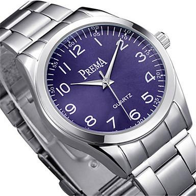 Heren Modieus horloge Kwarts Legering Band Zilver