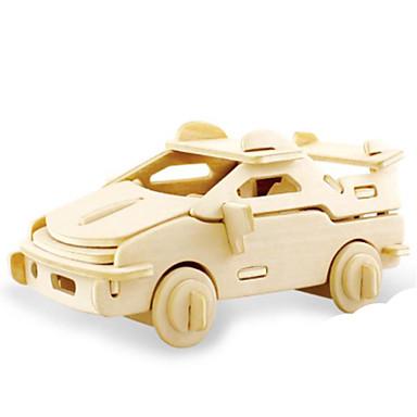 قطع تركيب3D تركيب تركيب معدني الخشب نموذج ألعاب دبابة 3D اصنع بنفسك خشب الخشب الطبيعي غير محدد قطع