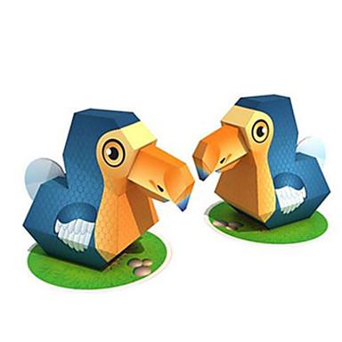 3D-puzzels Bouwplaat Modelbouwsets Speeltjes Vierkant Vogel Dieren DHZ Hard Kaart Paper Niet gespecificeerd Stuks