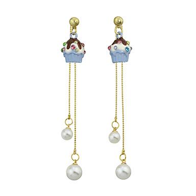 للمرأة أقراط قطرة تصميم بسيط سبيكة مجوهرات من أجل فضفاض