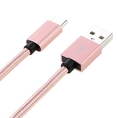 USB 2.0 Kabel, USB 2.0 to USB 2.0 Typ C Kabel Male - Male 1.0m (3Ft)