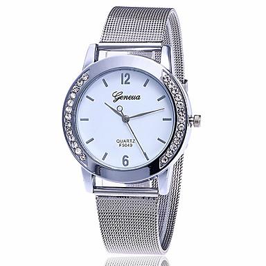 Pentru femei Ceas de Mână Ceas Elegant  Ceas La Modă Chineză Quartz Aliaj Bandă Charm Casual Elegant Argint