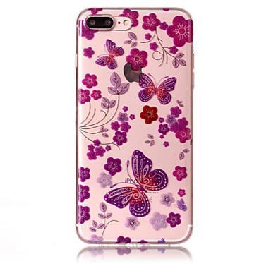 Fall für Apfel iphone 7 plus 7 Telefon Fall tpu Material imd Prozess Schmetterling Muster hd Flash Pulver Telefon Fall 6s plus 6 plus 6s 6