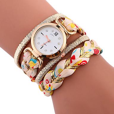Pentru femei de Copil Ceas Sport Ceas Brățară Unic Creative ceas Ceas Casual Chineză Quartz Plin de Culoare Material BandăCasual Creative