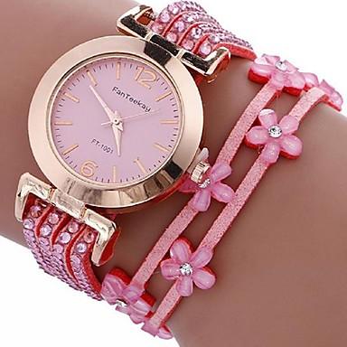 Damen Armband-Uhr digital Metall Band Schwarz Weiß Blau Rot Braun Rosa Khaki