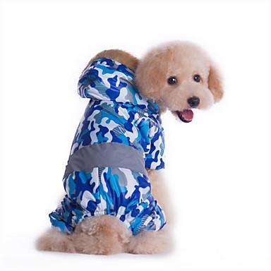 Hond Jumpsuits Hondenkleding Casual/Dagelijks Politie/militair Geel Blauw Kostuum Voor huisdieren