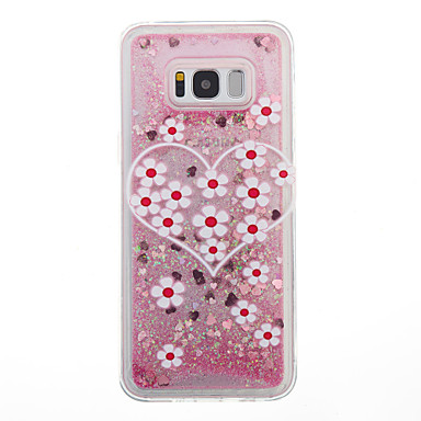 hoesje Voor Samsung Galaxy S8 Plus S8 Stromende vloeistof Achterkantje Bloem Zacht TPU voor S8 S8 Plus S7 edge S7 S6 edge S6 S5