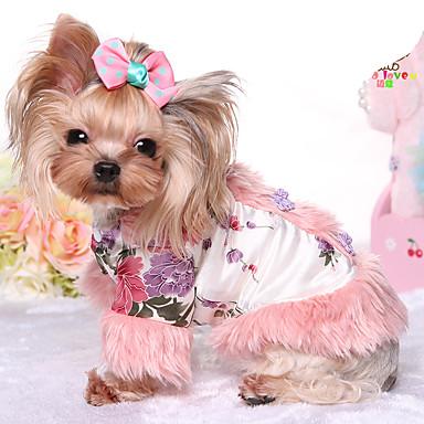 Hond Jumpsuits Hondenkleding Houd Warm Prinses Kostuum Voor huisdieren