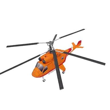 قطع تركيب3D أشغال الورق طيارة هليكوبتر محاكاة اصنع بنفسك ورق صلب هليكوبتر للأطفال صبيان للجنسين هدية